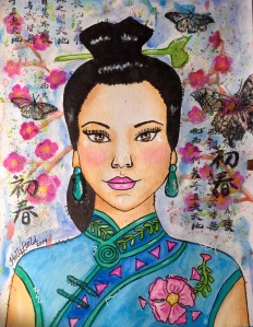 Chinese girl by Hollifield